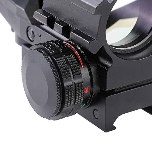 Letra Rifle Scope 7 Letra 4-in-1 4-16x50 EG Riflescope Kit, Dot Laser, Reflex Sight, Offset Rail Mount