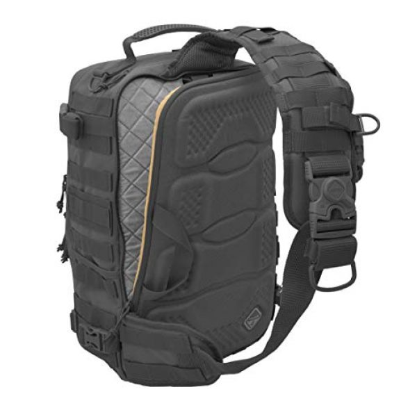 HAZARD 4 Tactical Backpack 4 HAZARD 4 Sidewinder(TM) Full-Sized Laptop Sling Pack (R) - Black