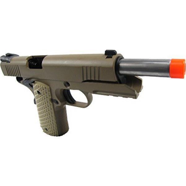 WE Airsoft Pistol 4 WE combat 191 gas blowback full metal - tan(Airsoft Gun)