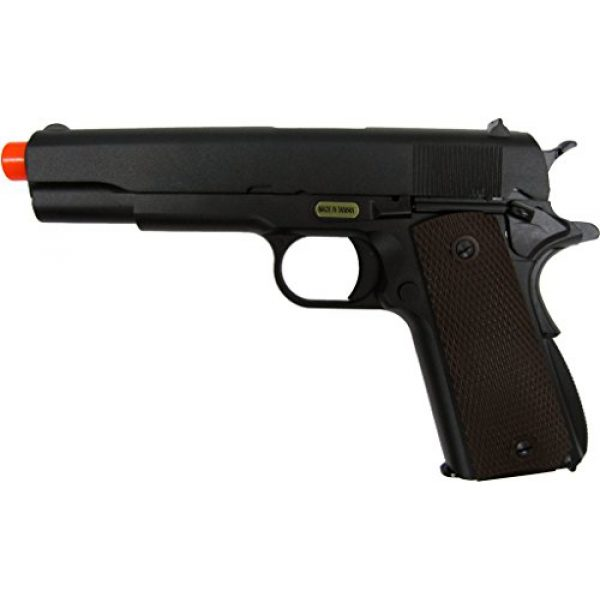 WE Airsoft Pistol 1 WE hi-capa 191 gas blowback full metal - black(Airsoft Gun)