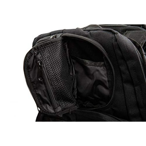 TLO Outdoors Tactical Backpack 5 TLO TacPack24 Tactical Backpack - 40L Storage Daypack, Rucksack with MOLLE, Patches