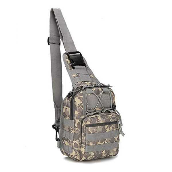 Mcdobexy Tactical Backpack 1 Mcdobexy Unisex Molle Tactical Assault Sling Bag