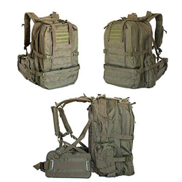 """Explorer Tactical Backpack 2 Explorer 22"""" Waist Gun PouchesTactical Backpack"""