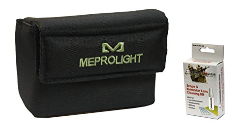 Ultimate Arms Gear Rifle Sight 1 Ultimate Arms Gear Meprolight The Mako Group Tactical Protective Carry Velcro Storage Cushioned Pouch with Belt Loops for The M21 Self-Powered Day/Night Reflex Sight Lens Cleaning Kit
