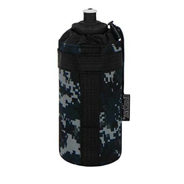 East West U.S.A Tactical Backpack 1 East West U.S.A RTC531 Tactical Military Water Bottle Pouch Molle Kettle Bag Holder