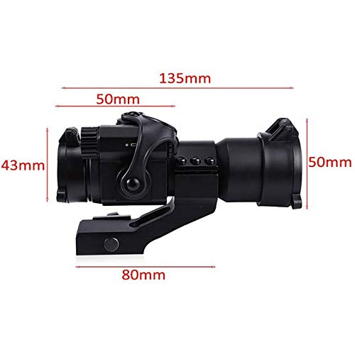TTHU Rifle Scope 3 TTHU Rifle Scopes Red Dot Sights Telescope Gun Sight with Reflex Red Green Dot Scope for Outdoor Tactical Rifle Hunting