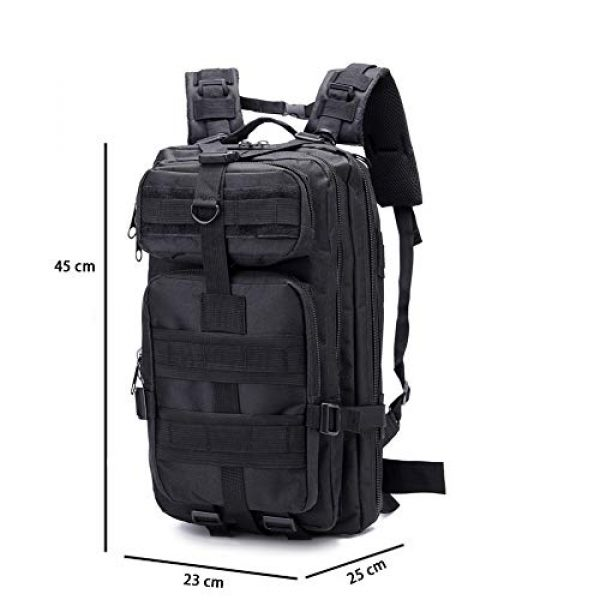 SZYT Tactical Backpack 5 SZYT Military Tactical Backpack Daypack Bag for Hiking Camping Outdoor Sport