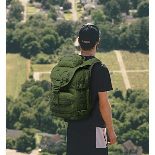 T1FE 1SFE Tactical Backpack 6 T1FE 1SFE Tactical Military Backpack Molle Backpack 35L Tactical Survival Bag Bugout Assault Pack Laptop Rucksack