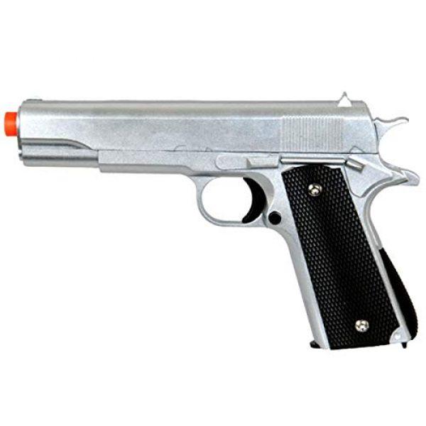 Pistolla 13 Airsoft Pistol 1 airsoft pistol handgun g13 replica metal shell bb gun metallic silver 6mm bb 250 fps hard and accurate aim(Airsoft Gun)