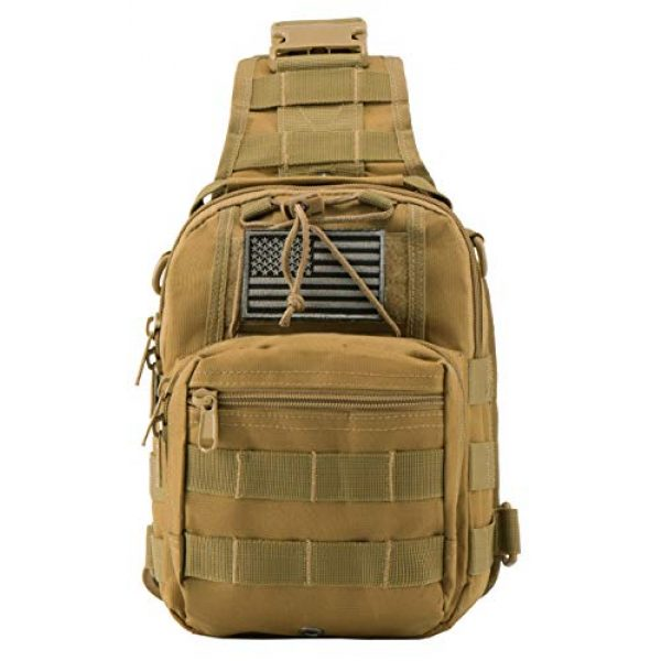 Luckin Packin Tactical Backpack 2 Luckin Packin Tactical Sling Bag,Military Rover Shoulder Sling Backpack,Tactical Sling Pack