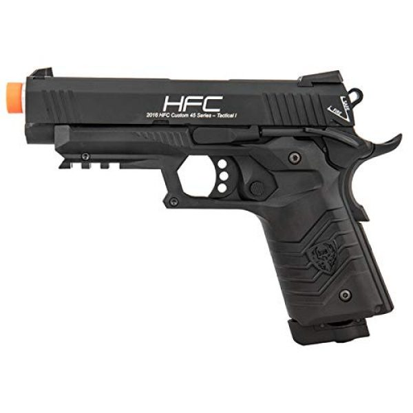 HFC Airsoft Pistol 1 HFC HG-171 Tactical 1911 CO2 Blowback Airsoft Pistol Black