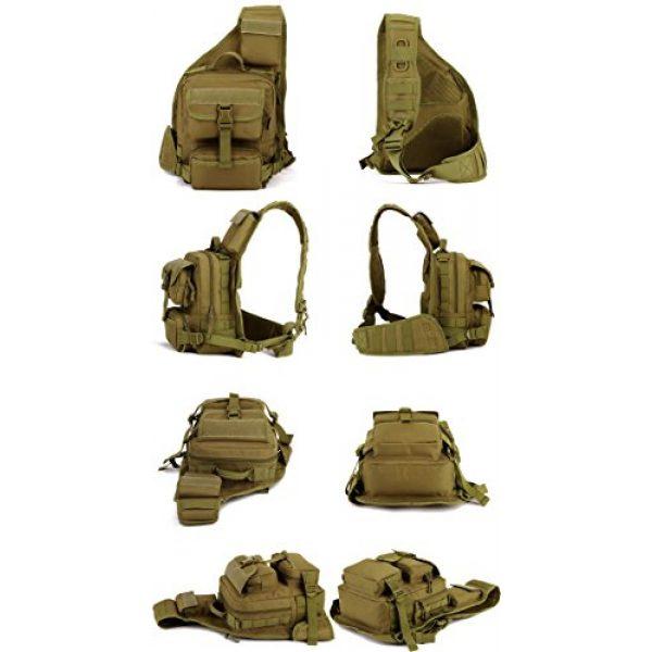 Huntvp Tactical Backpack 3 Huntvp Tactical Military Sling Pack Chest Daypack Molle Backpack Shoulder Bag