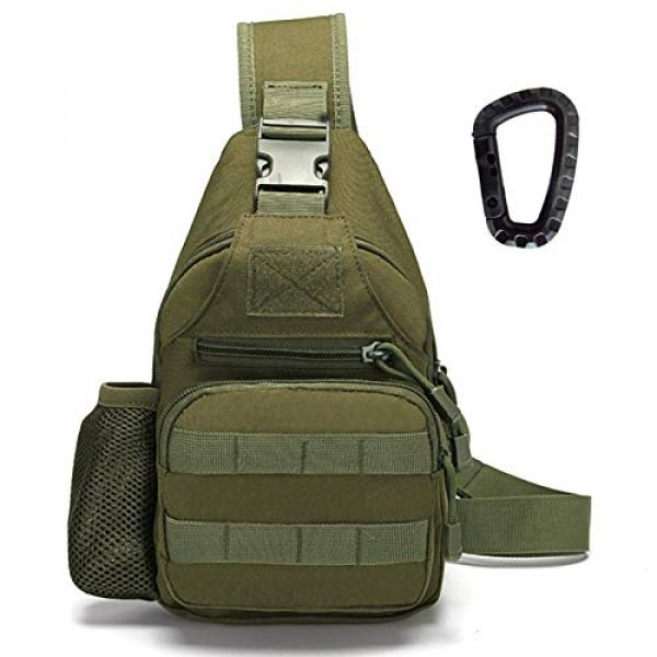Ydmpro Tactical Backpack 1 Ydmpro Tactical Sling Bag, Chest Pack Molle Daypack Military Crossbody Shoulder Bags