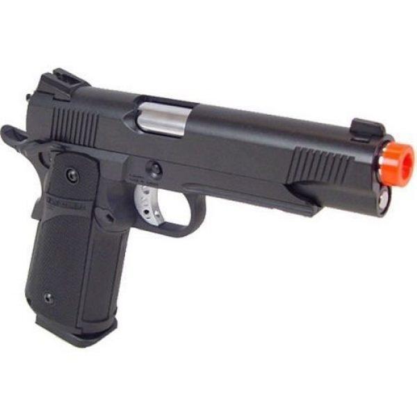 KJW Airsoft Pistol 1 KJW model-615 kp05-s gas blowback full metal black bcgbb-615 by bucketcart(Airsoft Gun)