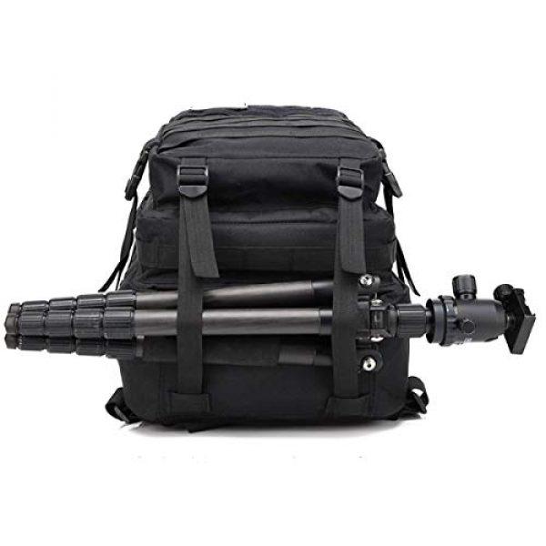 Himal Tactical Backpack 7 Himal Military Tactical Backpack - Large Army 3 Day Assault Pack Molle Bag Rucksack,40L,Black