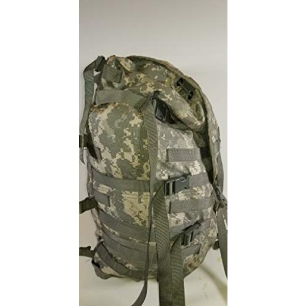 Specialty Defense Systems Tactical Backpack 3 Specialty Defense Systems US Army Military MOLLE ll ACU Digital Camo Camouflage Large Main Bag Digital Rucksack NO Frame NO Straps NO Belt by US Government GI USGI