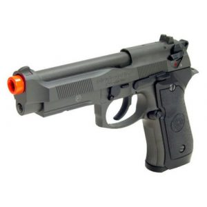 HFC Airsoft Pistol 1 HFC m9 full metal gas blowback airsoft pistol semi/full auto built-in rail(Airsoft Gun)
