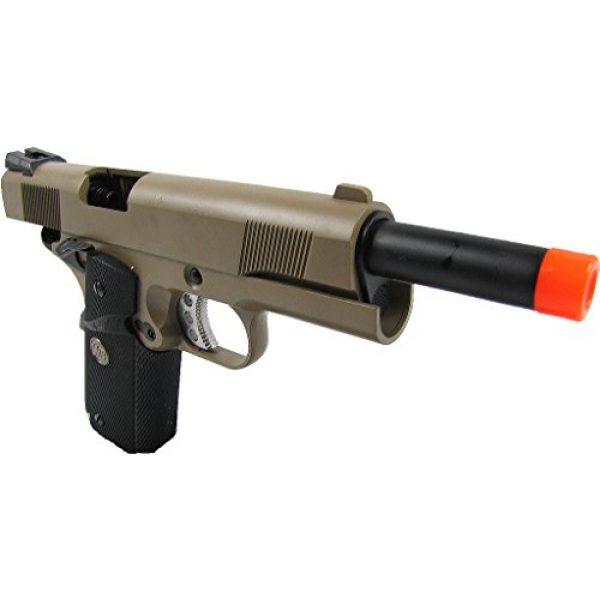 WE Airsoft Pistol 4 WE meu 191 gas blowback full metal - tan(Airsoft Gun)