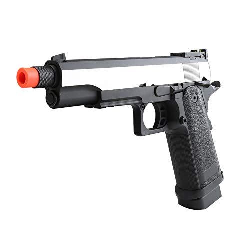 SRC Airsoft Pistol 2 SRC Hi-Capa 5.1 Dual Tone Co2 Airsoft Pistol Matte Finish [Airsoft Blowback]