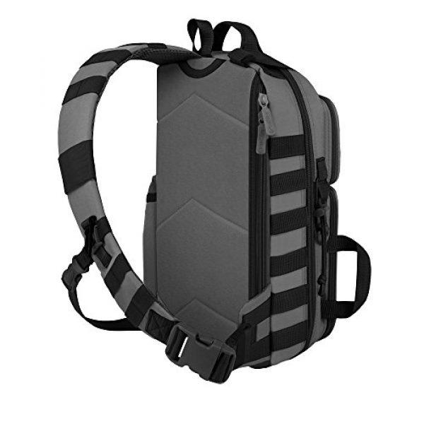 East West U.S.A Tactical Backpack 4 East West U.S.A RT525 Tactical Molle Assault Sling Shoulder Cross Body One Strap Backpack
