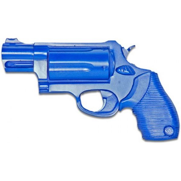 ACK, LLC Rubber Training Pistol Blue Gun 1 ACK, LLC Ring's Blue Guns Training Weighted Taurus 4510 The Judge 2-Inch Public Def Gun