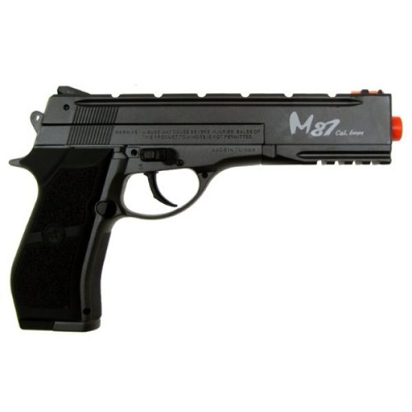 WG Airsoft Pistol 3 WG m84 long full metal co2 airsoft pistol - black/sliver(Airsoft Gun)