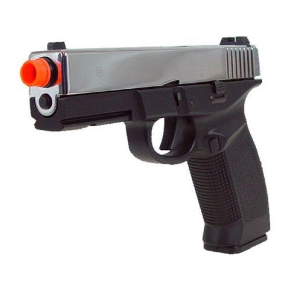 HFC Airsoft Pistol 2 HFC dark hawk full metal gun gas powered blowback airsoft pistol with case(Airsoft Gun)