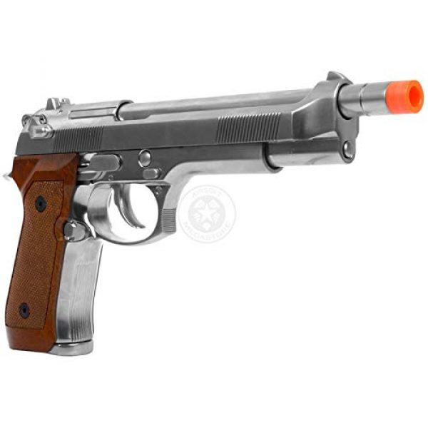 WE Airsoft Pistol 2 WE Tech Full Metal M9 Tactical Extended Length Gas Blowback Airsoft Pistol