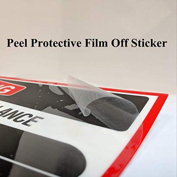 "Spy Spot Gun Owner Sticker 3 Spy Spot 6 Pack Registered Gun Owner Sticker Decal Vinyl Door or Window 4"" x 3"" UV Resistant Weatherproof"