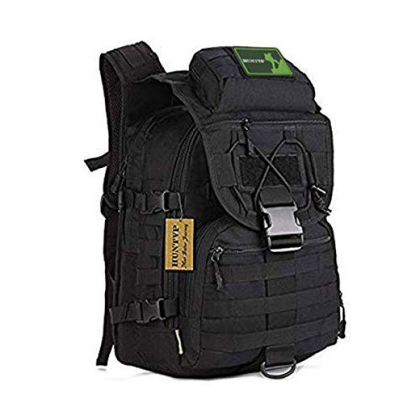 Huntvp Tactical Backpack 1 Huntvp 40L Military Tactical Backpack MOLLE Assault Daypack Rucksack WR