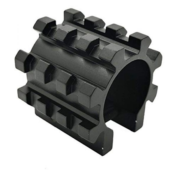 DJym Rifle Scope Accessory 1 DJym Solid Five-Sided Rail Pipe Shape Sight Rail Scope Accessories