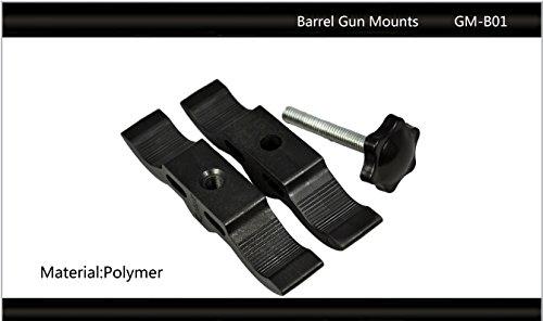 "Tactical Scorpion Gear Rifle Scope Accessory 3 Tactical Scorpion Gear TSG-GMB01 Polymer 24 "" 46 mm 1"" "" 1 3/4"" Scope Laser Mount - Black"