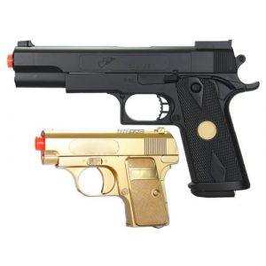 BBTac Airsoft Pistol 1 bbtac bt-p169(1+1) p169 airsoft pistol package, gold(Airsoft Gun)
