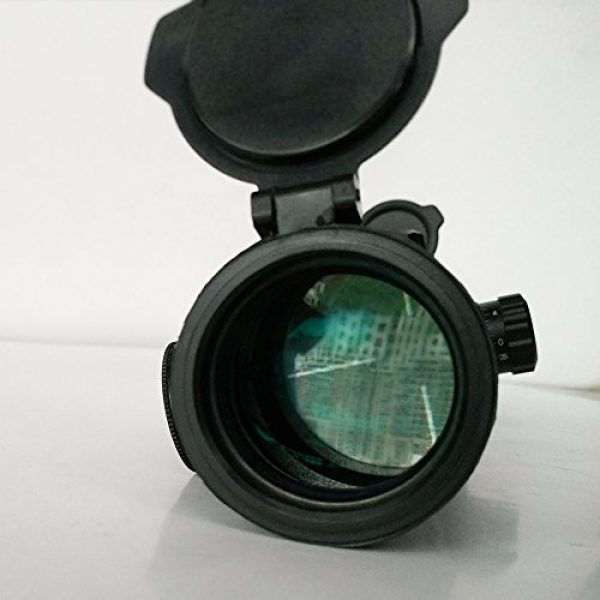 SECOZOOM Rifle Scope 2 1-12x30mm Mil Dot Shooting Scopes 12x Zoom Optical Sight Hunting for Strong Fireguns, Shoc-proofed