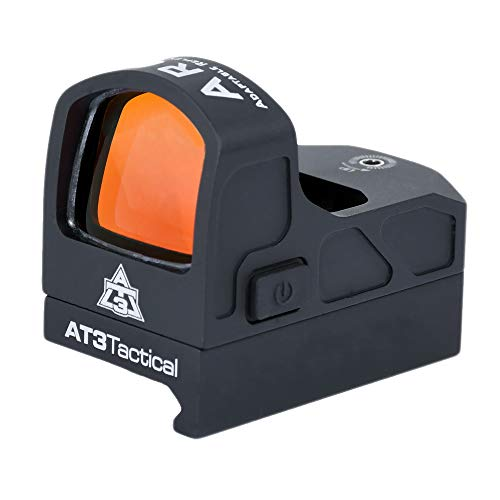 AT3 Tactical Rifle Scope 6 AT3 Tactical ARO Micro Red Dot Sight - Direct Mount, Low Mount, Optional Riser Mount - 3 MOA Compact Reflex Sight
