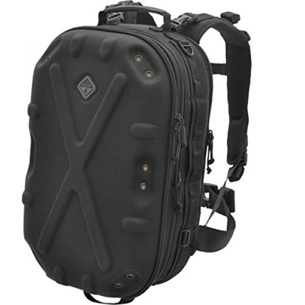HAZARD 4 Tactical Backpack 1 Hazard 4 Pillbox(TM) Hard-Shell Optics/CCW Pack - Black