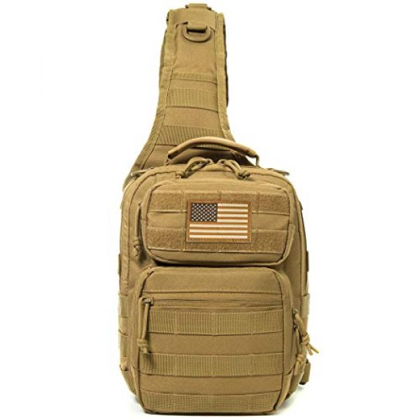 AXEN Tactical Backpack 2 AXEN Tactical Sling Bag Pack Military Rover Shoulder Sling Backpack Small