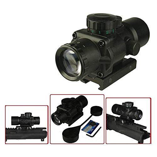 GOTICAL Rifle Scope 2 GOTICAL 3X30 3 Plus Compact Prism Scope RGB Horseshoe Reticle