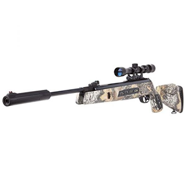 Hatsan Air Rifle 4 Hatsan Model 125SN Camo Vortex QE Combo .177 Airgun, Mossy Oak Breakup