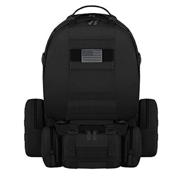 East West U.S.A Tactical Backpack 1 East West U.S.A RT505 Tactical Molle Military Rucksacks Assault Combat Trekking Bag