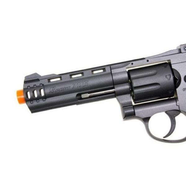 WinGun Airsoft Pistol 5 WG co2 powered air soft non blowback revolver airsoft pistol 4 barrel gun(Airsoft Gun)
