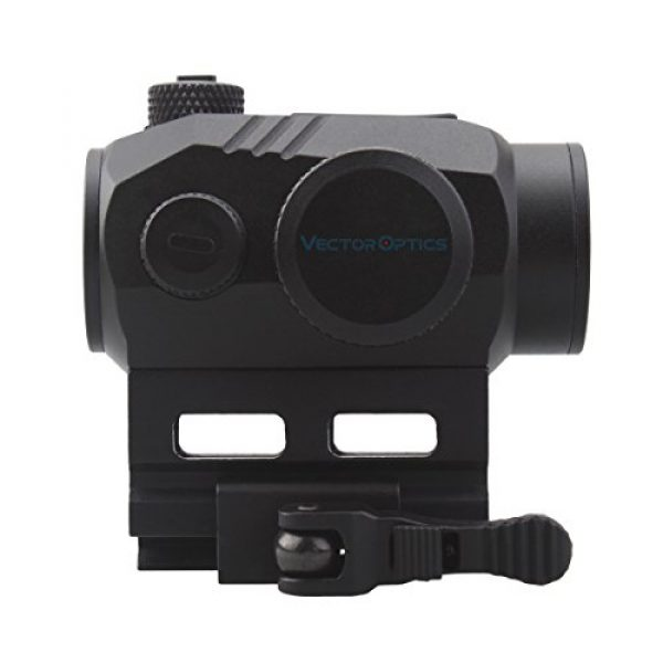 Vector Optics Rifle Scope 5 Vector Optics Harpy 1x22 AR Red Dot Sight Scope with QD Riser Picatinny Mount