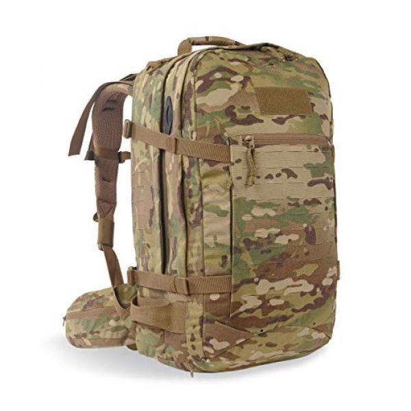Tasmanian Tiger Tactical Backpack 1 Tasmanian Tiger Mission Pack Mk II, 37L Combat Backpack with Laser Cut MOLLE System, YKK RC Zippers
