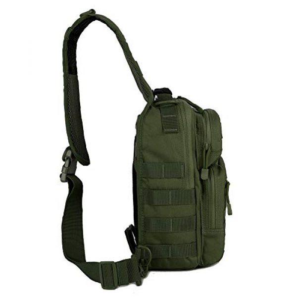 QT&QY Tactical Backpack 3 QT&QY Tactical Sling Bag for Men Small Military Rover Shoulder Backpack EDC Chest Pack Molle Assault Range Bag
