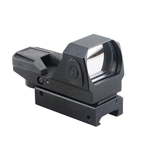 DJym Rifle Scope 2 DJym Button Red Dot Sight, Shockproof Stable Rifle Scope Suitable for Hunting Games