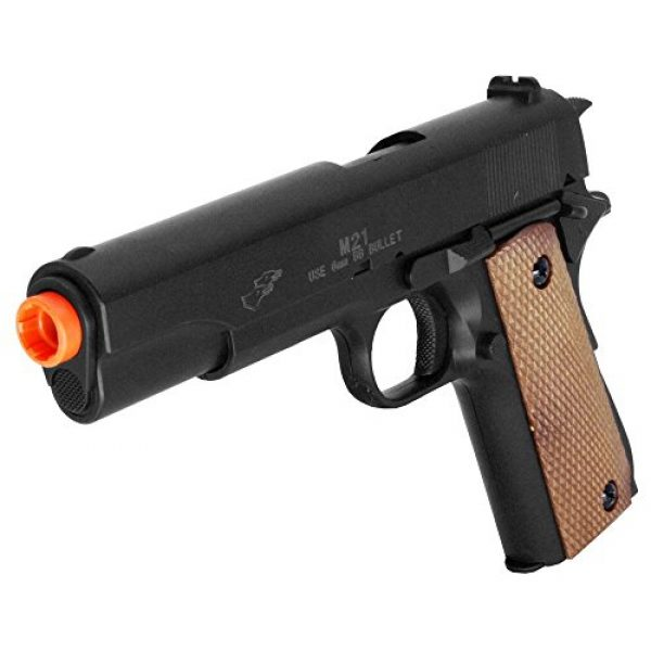 Double Eagle Airsoft Pistol 1 Double Eagle M21 M1911 Military Style Spring Airsoft Pistol M21 270 FPS Spring Handgun
