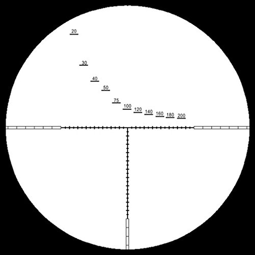 Marcool Rifle Scope 7 Marcool 4-16x44 SF FFP Rifle Scope With Rangefinder reticle