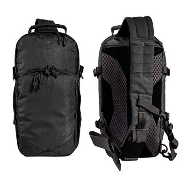 Tasmanian Tiger Tactical Backpack 3 Tasmanian Tiger TAC Sling Pack 12, Tactical Sling Bag with MOLLE, YKK Zippers, Hydration Compatible