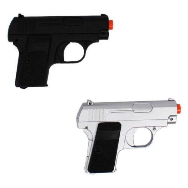 Velocity Airsoft Airsoft Pistol 1 p328 twin pocket compact spring airsoft pistols fps-200 (colors may vary)(Airsoft Gun)