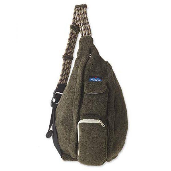 KAVU Tactical Backpack 1 KAVU Rope Fleece Bag Sling Crossbody Sherpa Backpack Travel Purse